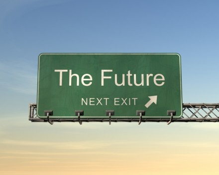 Timekeeping Portland, The Future Next Exit Sign Image - Portland Payroll, Inc.